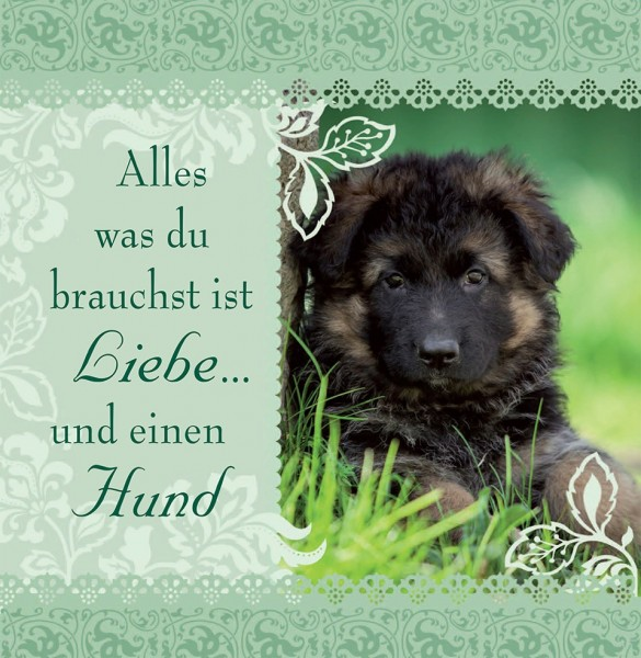 Geschirrtuch Alles was... Hund, H & H, History Heraldry bei HIKO Eventdeko
