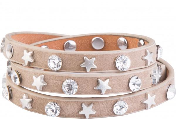 Goldline - COMBINATION 4 YOU JEWELRY® - Crystal Line Armband Wickelarmband 60