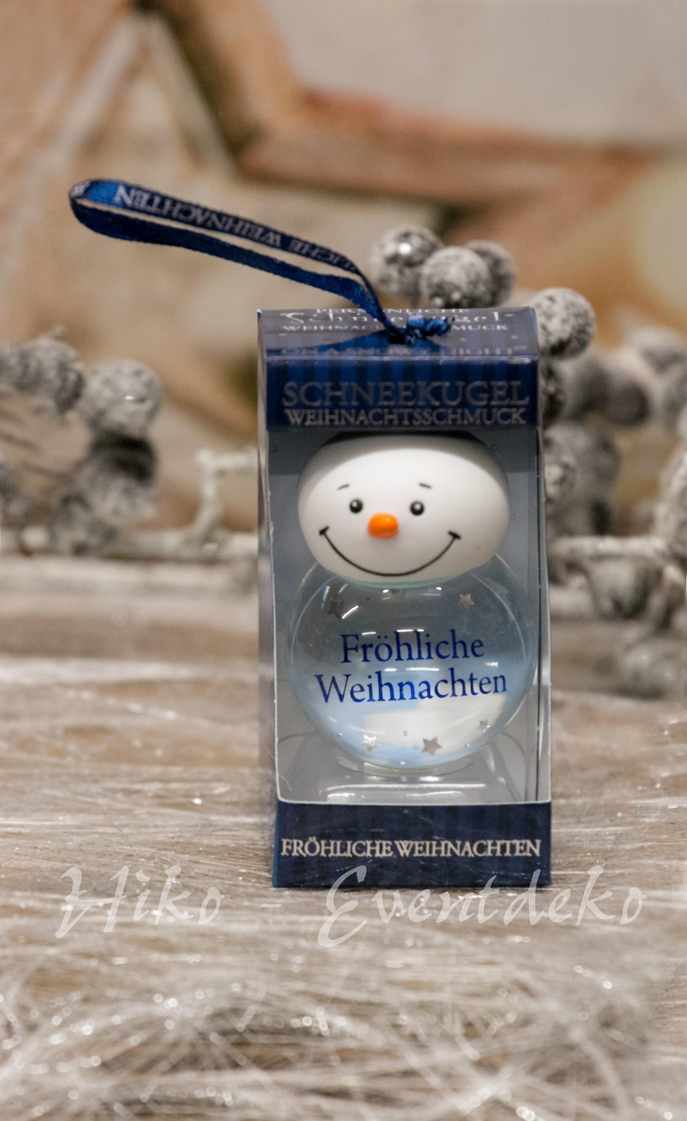 Persönliche Schneekugel Fröhliche Weihnachten   Persönliche ...