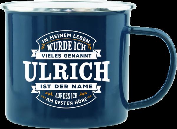 History & Heraldry Echte Kerle Becher Ulrich Emaille Becher Kaffeebecher Kaffeepott