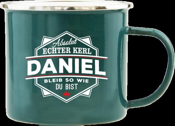 History & Heraldry Echte Kerle Daniel Emaille Becher Kaffeebecher Kaffeepott