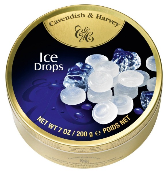 Cavendish & Harvey - Ice Drops - Bonbons - 200g in Metalldose