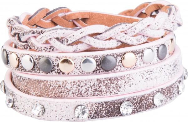 Goldline - COMBINATION 4 YOU JEWELRY® - Crystal Line Armband Wickelarmband 79
