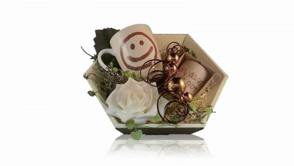 La Vida Geschenkset für Dich 2-teilig Becher und Teelicht Schön