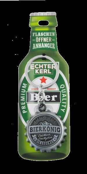 H&H Schlüsselanhänger - Flaschenöffner - Bierkönig