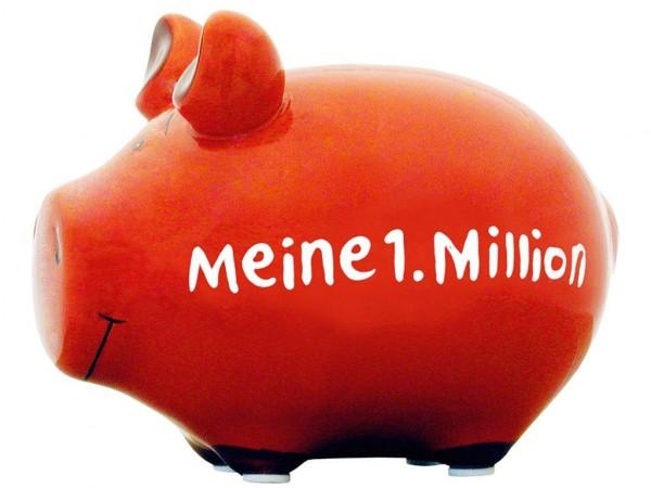 Lustiges Sparschwein - Meine 1. Million - Sparbüchse von Kawlath's Coole Geschenke