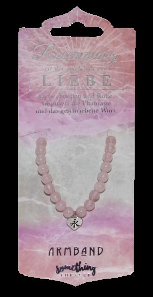 Edelstein - Geschenke Halskette Rosenquarz